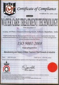 Water Care Treatment Technology ISO 9001-2008 Co.