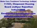 WATER CARE TREATMENT TECHNOLOGY IN JODHPUR RAJASTHAN INDIA